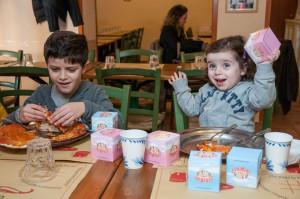 Pizza con sorpresa per bambini