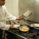 Lo Chef ai fornelli